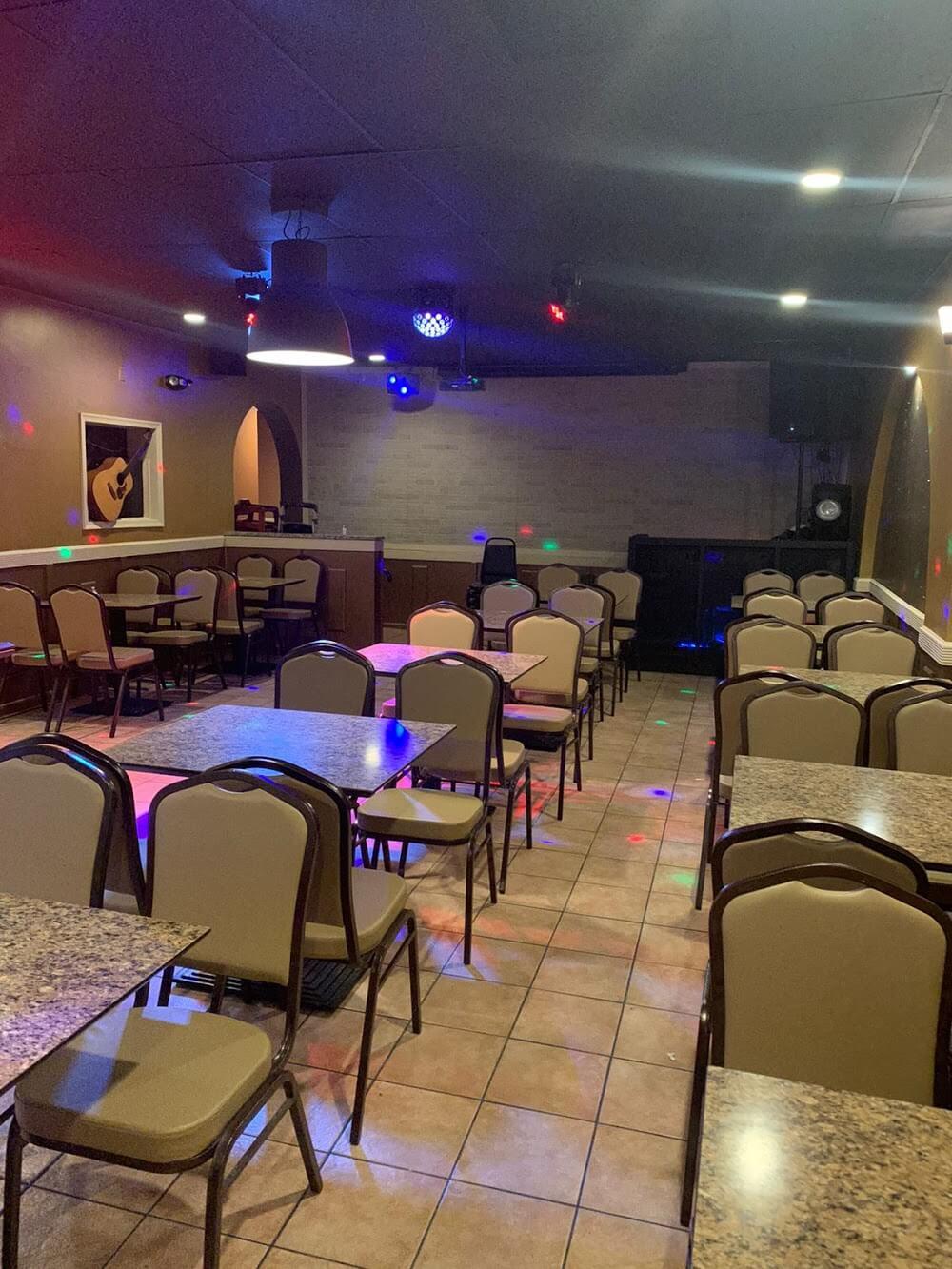 Caliente Restaurant & Bar.