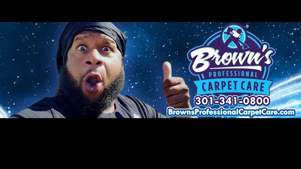 Brown's Professional Carpet Care